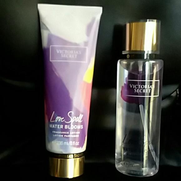 Victoria's Secret Other - Love Spell Water Blooms set
